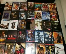 Lot of 36 DVD action Drama movies DVD's Batman Iron Man 300 Marvel L3 FREE SHIP