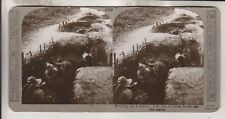WWI BRITISH STEREOVIEW - BOMBING A TRENCH HOW THE GURKHAS DROVE OUT THE ENEMY