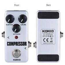 Professional KOKKO FCP2 Mini Compressor Pedal Portable Guitar Effect Pedal bass