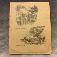 Antique Book Print - Cobbity - Sydney Ure Smith - 1917