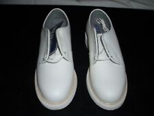 "WOMEN'S BATES ""LITES"" WHITE LEATHER UNIFORM OXFORD SHOE SZ 4.5W"