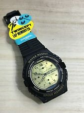 rare vintage casio AWX-11 TWINCEPT Watch 20 Lap Memory NOS NEW HTF