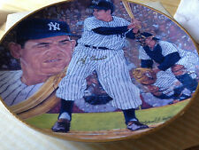 Yogi Berra NY YANKEES Personally Hand Signed Autographed Gartlan Plate 1990 #430