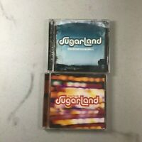 Sugarland Lot of 2 CDs Nice! Free Ship Enjoy the Ride Twice the speed of Life