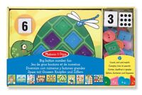Melissa and Doug Big Button Number Fun (Damaged Retail Packaging) - 14319