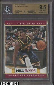 2012-13 Panini NBA Hoops #223 Kyrie Irving Cavaliers RC Rookie BGS 9.5