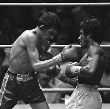 JOHNNY OWEN vs LUPE PINTOR 8X10 PHOTO BOXING PICTURE