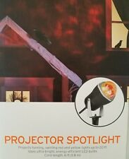 NEW Halloween LED Projector Light Projects Red Yellow Up To 20 Feet Target