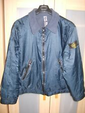 Stone Island 1995/96 Large Osti thermical lined jacket metal shimmer RARE