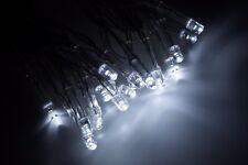 Lichterkette 20 LED Kaltweiß Batterie Timerfunktion für Außen geeignet KV