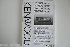 Kenwood TK-760G-762G-860 (véritable manuel d'instructions uniquement)... radio _ trader _ irlande.