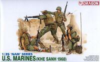Dragon 1/35 3307 US Marines (KHE SANH 1968)(Vietnam War)(NAM Series)(4 Figures)