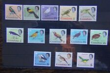 Gambia 1963 Birds set complete to £1 MM SG193 - SG205