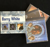 "Barry White 3-CD ""Can't Get Enough"", ""Just Another Way ..."" , ""The Icon Is Love"""