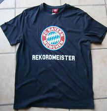 FC Bayern München Adidas Herren T Shirt weiß bedruckt Gr. S