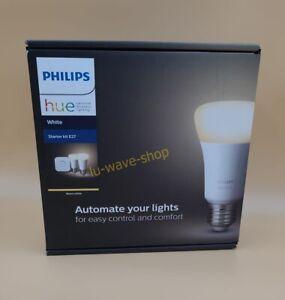 Philips Hue White Starter Set 2x E27 LED Lampe BT mit Dimmschalter *NEU&OVP* 🔥