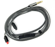 3.5 mm 5N BCE Câble avec micro pour audio-technica ath-im50 im70 IM01 IM02 im03 im04