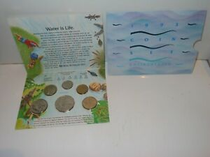 1993 Australian Uncirculated Mint Coin sets  Landcare six Coin Set