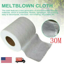 Melt Blown Nonwoven DIY Fabric Mouth Face Craft Filter Interlining 30M Fast Ship