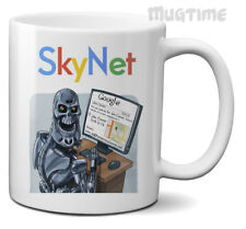 The Terminator - Skynet is Google - Funny Humour Mug Cup - Gift Ceramic 330ml