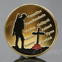 Sell Good Gold Plated The Great War Commemorative Coin Art Collection Colored