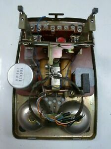 GPO STROWGER 706 telephone Chassis not tested  looks in good condition