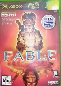 Fable XBOX Microsoft PAL with Manual