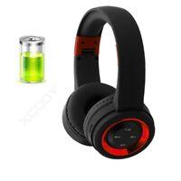 Wireless Bluetooth Headphone Foldable Stereo Earphone Super Bass Headset W/Mic