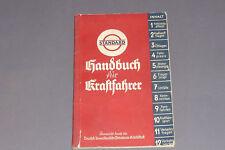 Altes Standard Oil Handbuch für Kraftfahrer 1936 Auto Oldtimer Wartung Verkehr