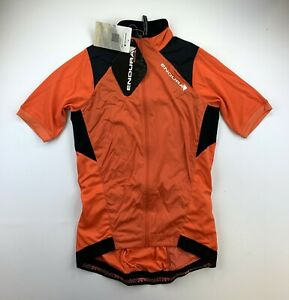 Endura MTR Windproof Jersey Size Men's Small Orange New