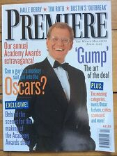 Premiere (US Edition) April 95, David Letterman cover, Oscars Special, Tim Roth