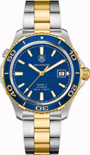 SAVE TAG HEUER AQUARACER WAK2120.BB0835 CHRONOGRAPH BLUE GOLD CERAMIC MENS WATCH