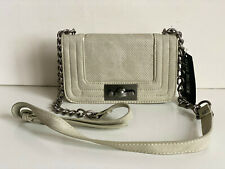 NEW! STEVE MADDEN TAUPE BBAE PERFORATED CROSSBODY SLING BAG PURSE $58 SALE