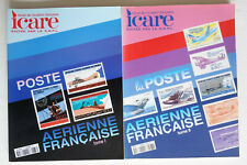 Revue Icare – La poste aérienne française tomes 1 & 2 - 173 / 177 TBE