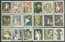 TIMBRES FRANCE TABLEAUX