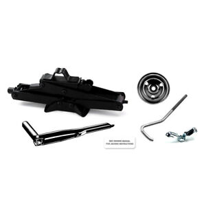 1965 - 1968 Mustang Scissor Jack Kit with Handle, Mounting Hardware, and Decal