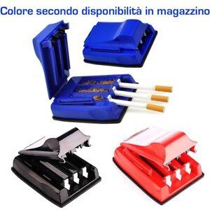 Macchinetta riempi 3 sigarette riempi tubo macchina automatica sigaretta tabacco