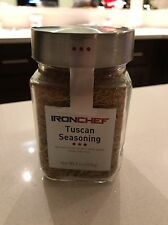 Iron Chef Tuscan Seasoning Mix 9.6 oz Brand New Used With Meats, Pasta, Salads