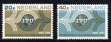 Netherlands - 1965 UIT Centenary Mi. 840-41 MNH