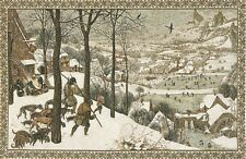 "44"" TAPESTRY WALL HANGING, WINTER BY J P BREUGHEL, FULLY LINED WITH ROD SLEEVE"