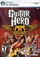 Guitar Hero Aerosmith PC Games Windows 10 8 7 XP Computer music band fun guitar