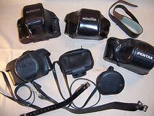 Vintage Camera Case Lot Olympus, Pentax, Minolta & More