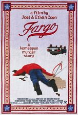 """""""FARGO"""" Movie Poster [Licensed-NEW-USA] 27x40"""" Theater Size (Coen Brothers) 1996"""