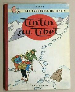 TINTIN AU TIBET - E.O. Française - B29 - TBE