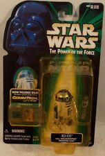 Star Wars The Power Of The Force Commtech Chip - R2-D2 Holographic Leia (MOC)