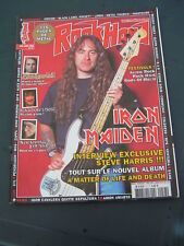 ROCK HARD 2006 57 IRON MAIDEN DEEP PURPLE RITCHIE BLACKMORE STRAPPING YOUNG LAD