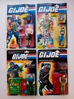 G. I. JOE FUNSKOOL Road Pig Dreadnok Dial-Tone Budo Hasbro 4 Action Figures Lot