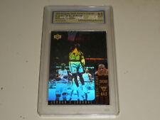 1995-96 Upper Deck Michael Jordan Journal Bilingual Hologram USA 9 Mint