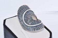 925 Regolabile Argento Sterling Fatto A Mano solido anello