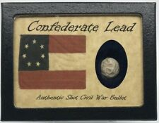 Confederate Lead...Shot Bullet from the Army of Tennessee with COA